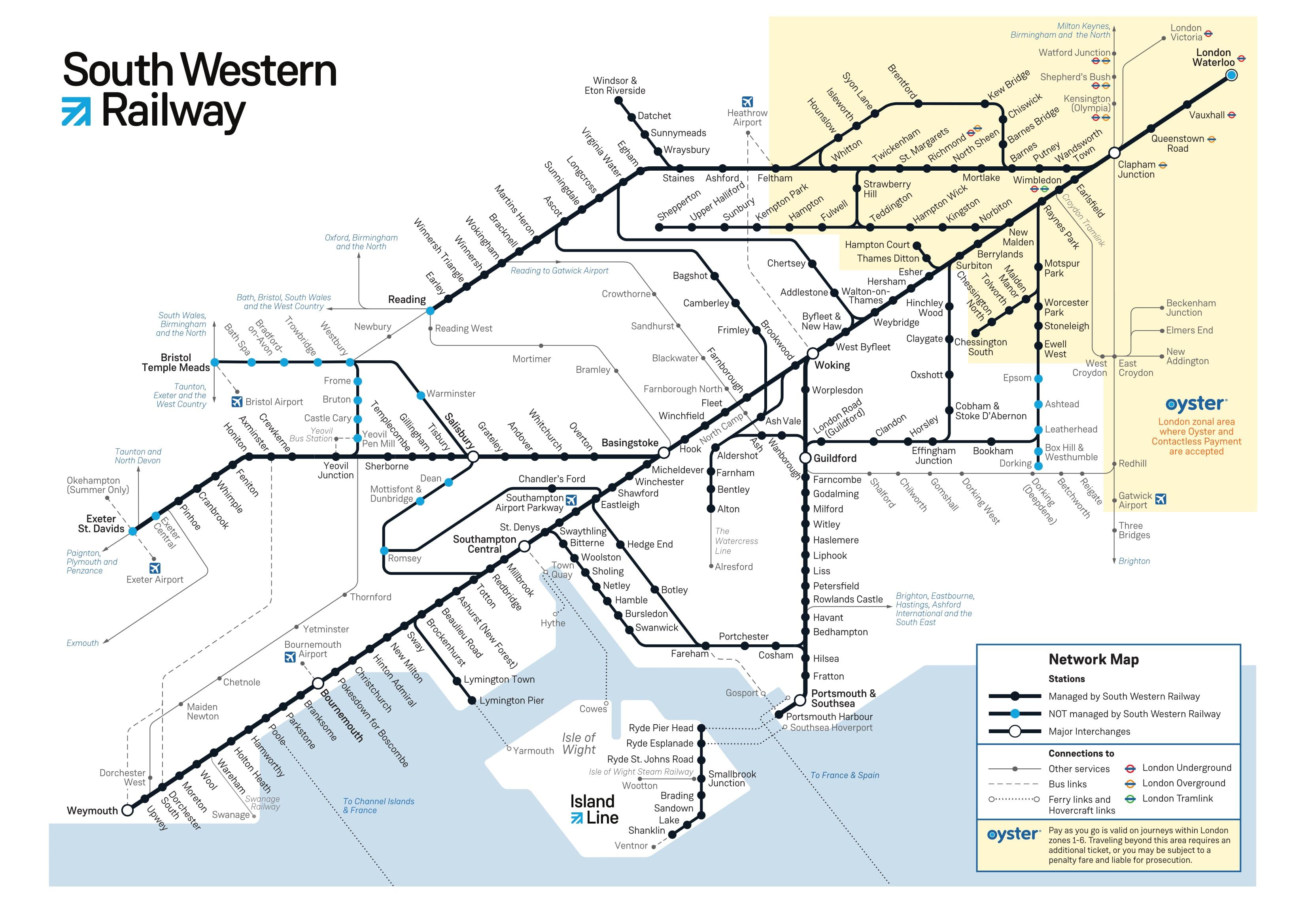 Mtr Gt South Western Railway
